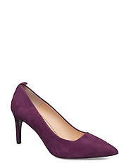 Betty Pumps (high heel) - DARK PURPLE