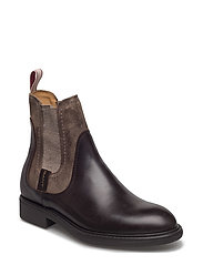 Lydia Mid Boot - DARK BROWN