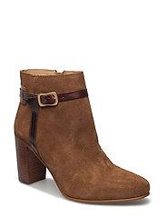 Alma Low Boot - COGNAC
