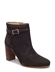 Alma Low Boot - DARK BROWN