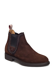 Lydia Mid Boot - SIENNA BROWN