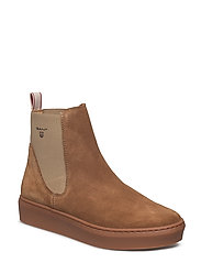 Anne Mid Boot - WARM KHAKI