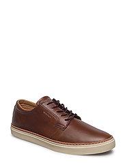 Bari Low lace shoes - COGNAC