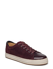 Star Low lace shoes - WINE RED
