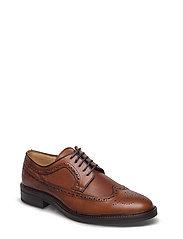 Albert Low lace shoes - COGNAC