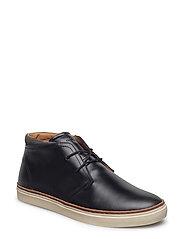 Bari Mid lace boot - BLACK