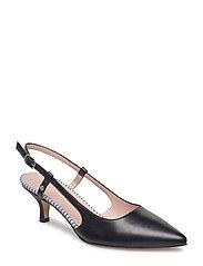 Bardot Sling sandale - BLACK