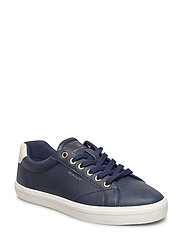 Mary Low lace shoes - MARINE