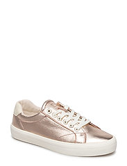 Mary Low lace shoes - ROSE GOLD MULTI
