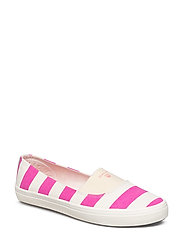 New Haven Slip-on shoes - CREAM/STRAWBERRY PINK