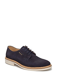 Parker Low lace shoes - MARINE
