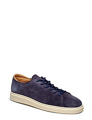 Beacon Low lace shoes - MARINE