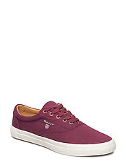 Hero Sneaker - SYRAH RED