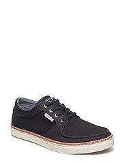 Bari Low lace shoes - BLACK
