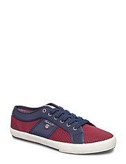 Samuel Sneaker - SYRAH RED/MARINE
