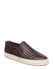 Star Slip-on shoes - DARK BROWN