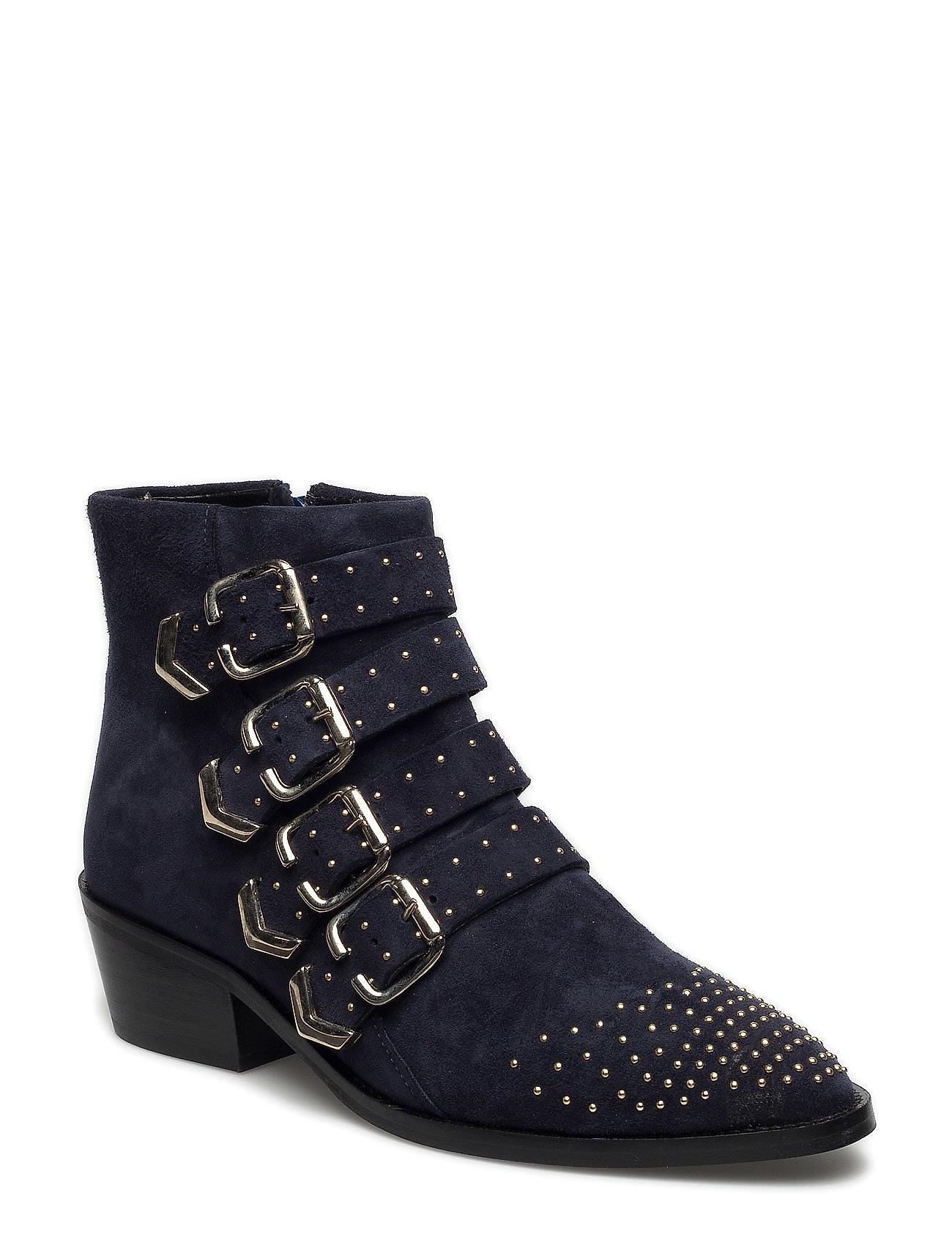 Anella Gardenia Støvler til Damer i Navy blå