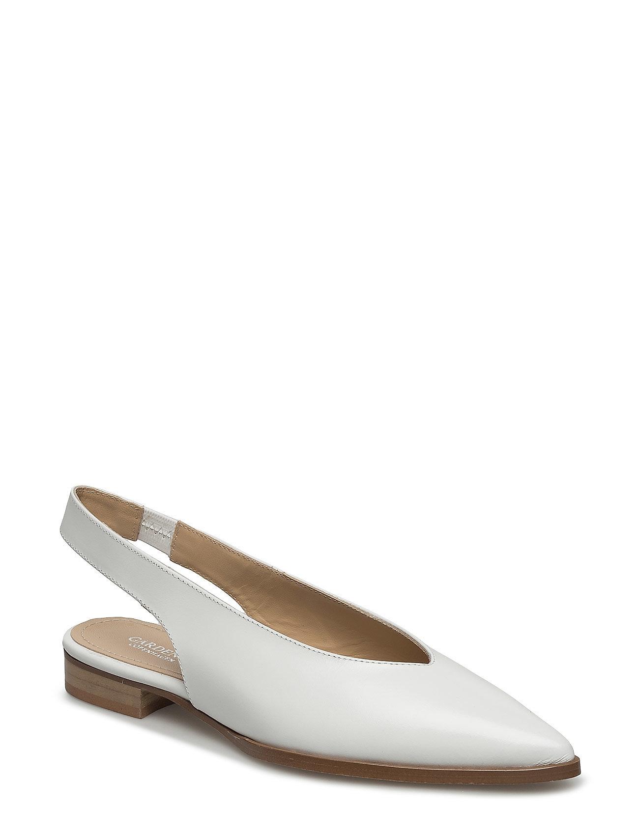 Carolina Gardenia Ballarinaer til Damer i hvid