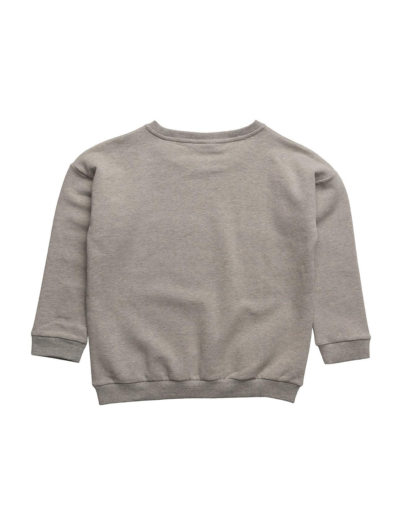 gardner & the gang – The classic sweat shirt conrad camel chestprint på boozt.com dk