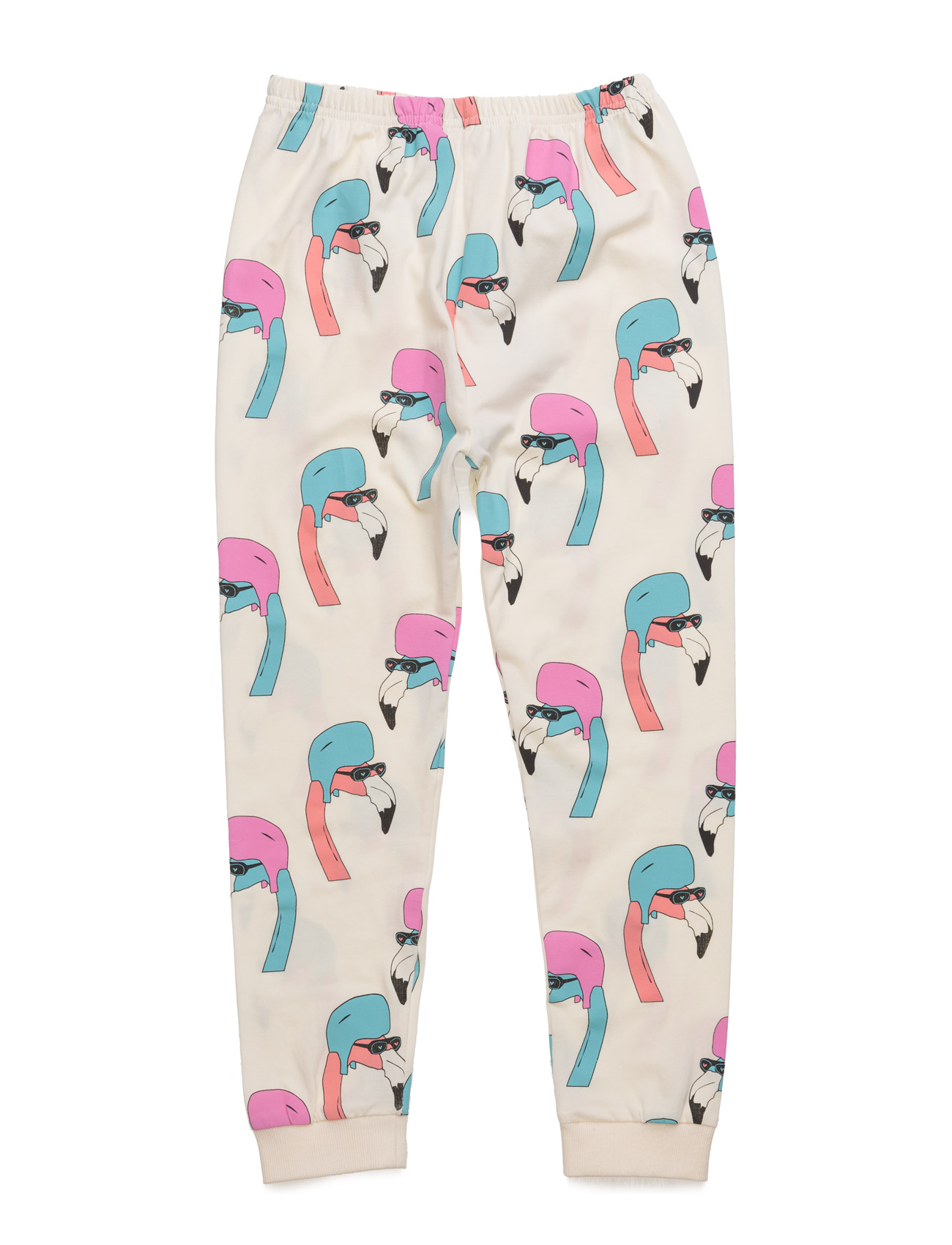 Leggings Helmut Flamingo All Over Print Gardner & the Gang  til Børn i Creme