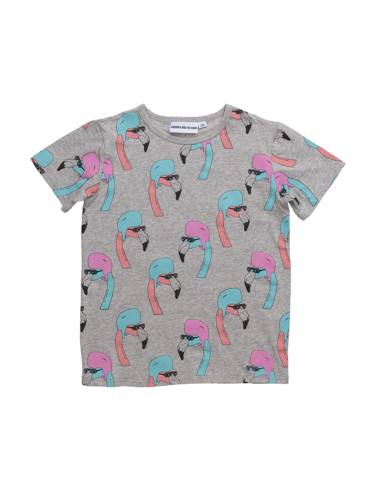 The Cool Tee Helmut Flamingo All Over Print Gardner & the Gang Kortærmede t-shirts til Børn i