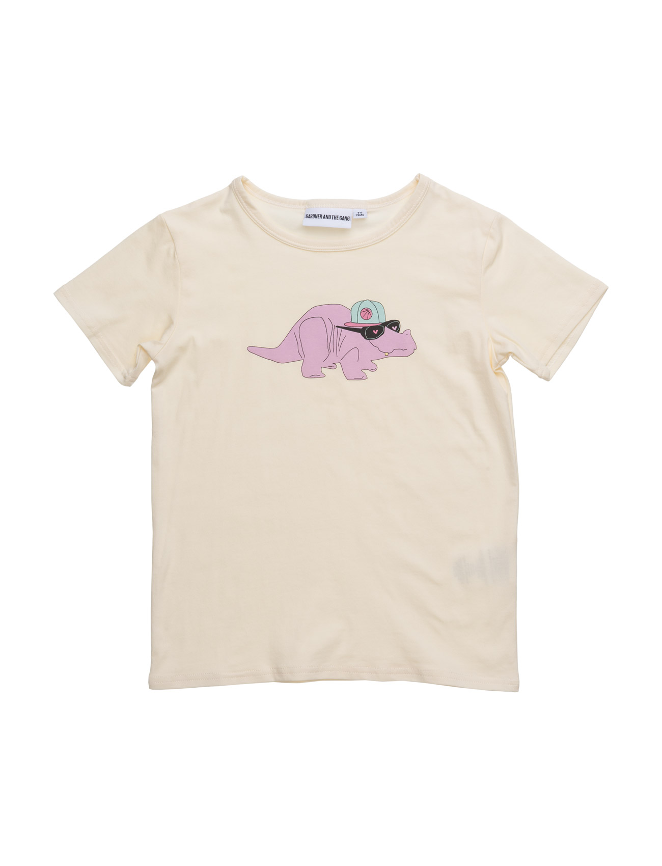 The Cool Tee Dorthy The Dino Chest Print Gardner & the Gang Kortærmede t-shirts til Børn i