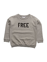 THE CLASSIC SWEAT SHIRT YOUNG/FREE - GREY/FREE