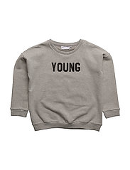 THE CLASSIC SWEAT SHIRT YOUNG/FREE - GREY/YOUNG