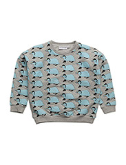 THE CLASSIC SWEATER BETTY THE BADGER - GREY