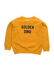 THE CLASSIC SWEATER GOLDEN DINO (EMBROIDERY) - YELLOW