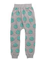 SLOUCHY PANTS BASKET BALL - GREY