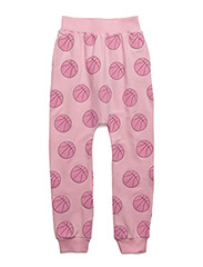 SLOUCHY PANTS BASKET BALL - PINK