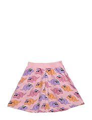 THE SKIRT DORTHY THE DINO ALL OVER PRINT - PINK