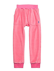 VELOUR HANG OUT PANT BOLT POCKET - CANDY PINK