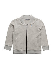 TRACK SUIT JACKET ZOOLOGICAL - LIGHT GREY