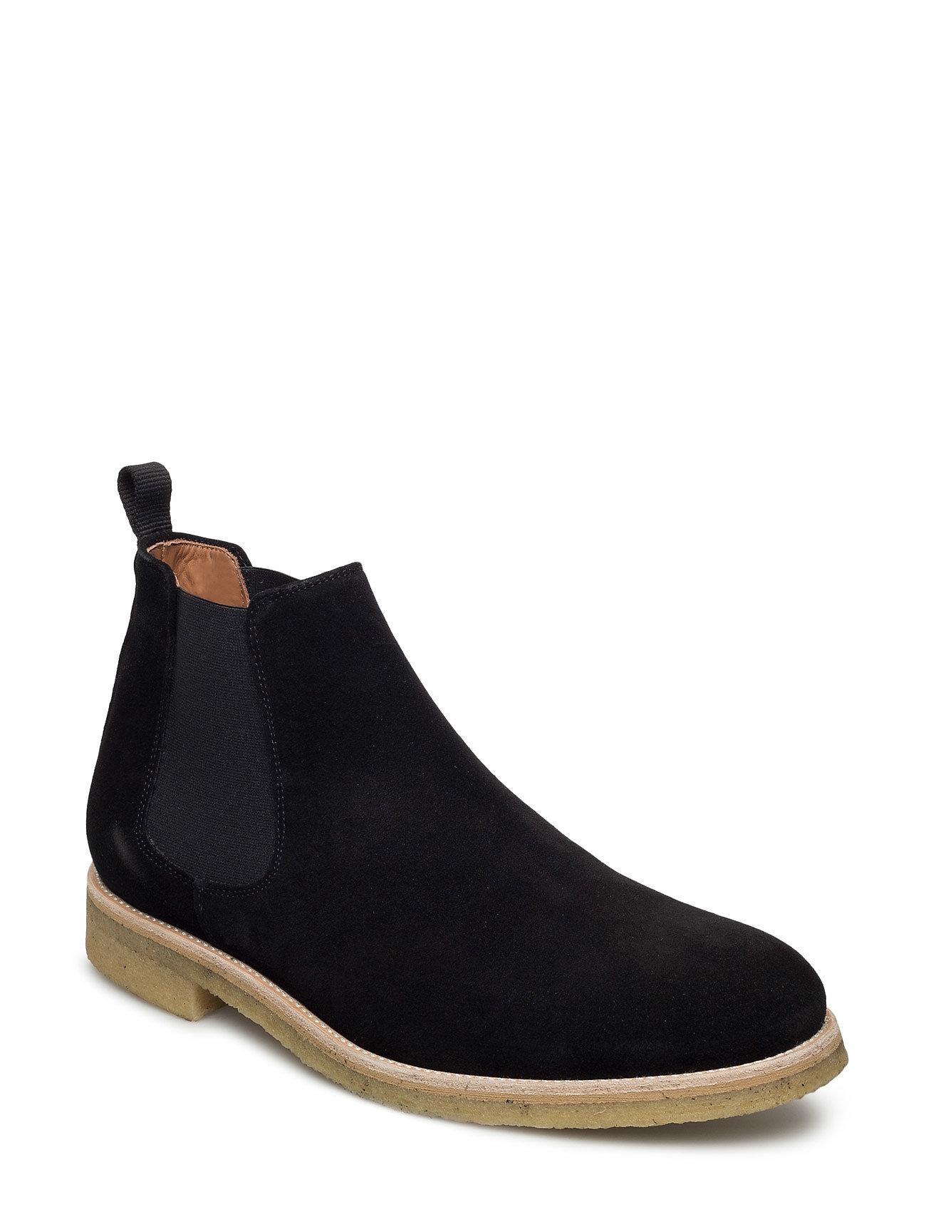 Chelsea Boot Garment Project Støvler til Herrer i Sort