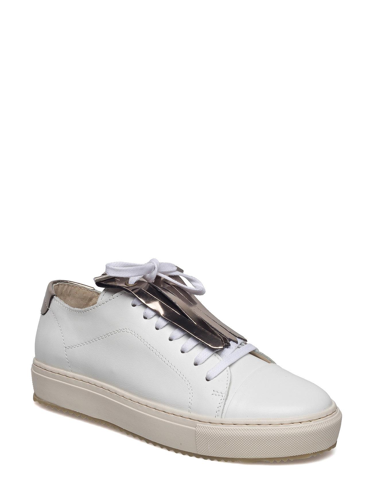 Classic Lace Fringe Garment Project Sneakers til Damer i hvid