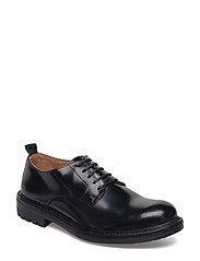 Derby Shoe - BLACK