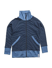 Zipsweater - MARINE/L.BLUE