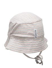 Sunny hat - L.GREY MEL/PEACH