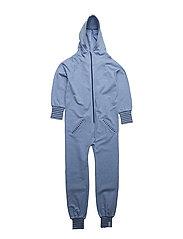 College jumpsuit - BLUE MELANGE