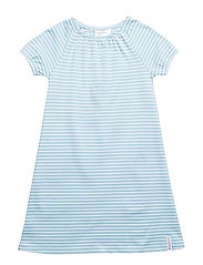 Singoalla dress - BLUE/WHITE