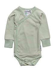 Wrap-around body - MINT/BEIGE