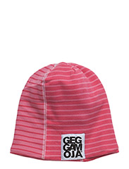 Two Color Cap Fleece - RASPBERRY/CORAL
