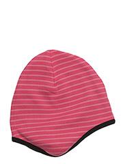 Helmet Hat - RASPBERRY/CORAL