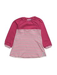 Two Color Dress - PINK/CERISE