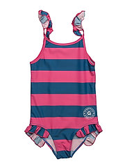Swim Suit - MARIN/STRONG PINK