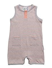 Baby summer dress - L.GREY MEL/PEACH