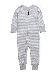 Pyjamas Classic - LIGHTGREY/WHITE