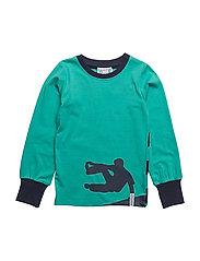 Parcour sweater - GREENTURQ